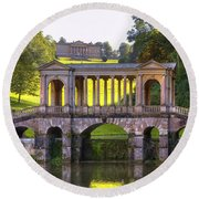 Prior Park Round Beach Towel