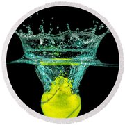 Tennis Ball Round Beach Towel