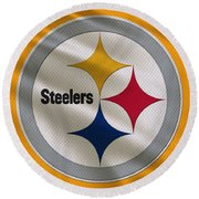 Pittsburgh Steelers Uniform Round Beach Towel