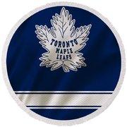 Toronto Maple Leafs Round Beach Towel