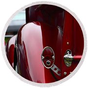 Classic Chevy Pickup  Round Beach Towel by Dean Ferreira