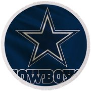 Dallas Cowboys Uniform Round Beach Towel