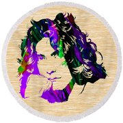 Robert Plant Collection Round Beach Towel