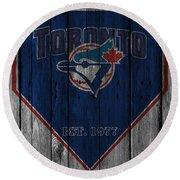 Toronto Blue Jays Round Beach Towel