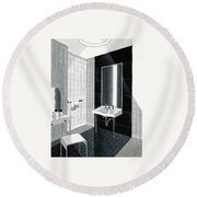 A Bathroom For Kohler By Ely Jaques Kahn Round Beach Towel