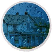 Round Beach Towel featuring the photograph A Bit Of Whimsy For The Soul... by Liane Wright