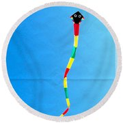 A Kite Round Beach Towel