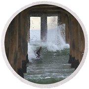 A Rite Of Passage Round Beach Towel by Joe Schofield