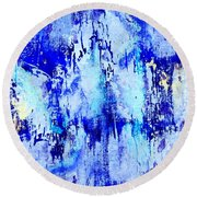 A River's Edge 2 Round Beach Towel