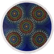 Aboriginal Inspirations 16 Round Beach Towel