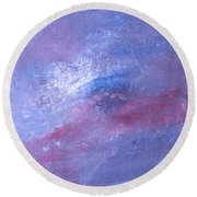 Abstract 2 Round Beach Towel by Laurianna Taylor