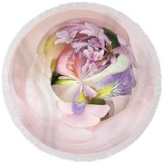 Abstract Bouquet Round Beach Towel