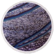 Abstract Lines. Round Beach Towel