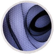 Abstract Shadows Round Beach Towel
