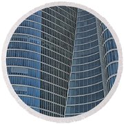 Abu Dhabi Investment Authority Round Beach Towel