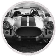 Ac Cobra 427 Round Beach Towel by Sebastian Musial