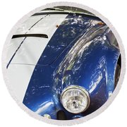 Ac Cobra Shelby Round Beach Towel