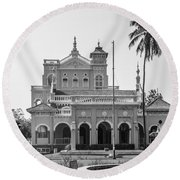 Aga Khan Palace Round Beach Towel