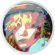 Age Of Aquarius Round Beach Towel