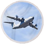 Airbus A400m Round Beach Towel by Maj Seda