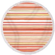 Airy Mood Round Beach Towel by Lourry Legarde