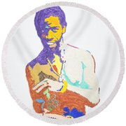 Al Green Round Beach Towel