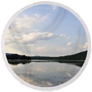 Alabama Mountains Round Beach Towel