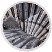 Aldeburgh Shell Abstract Round Beach Towel