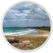 All Day Bay Round Beach Towel
