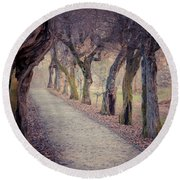 Alley - Square Round Beach Towel
