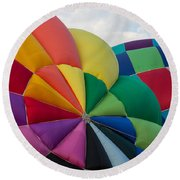Almost Ready Round Beach Towel