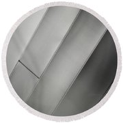 Aluminum Two Round Beach Towel by Gary Warnimont