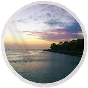 Amazing View Round Beach Towel