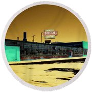 American Dream Factory Round Beach Towel by Desiree Paquette