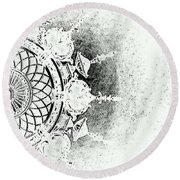 An Evening To Remember Round Beach Towel
