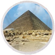 Ancient Great Round Beach Towel
