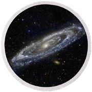 Andromeda Round Beach Towel
