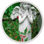 Angel Round Beach Towel by Aimee L Maher Photography and Art Visit ALMGallerydotcom
