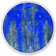 Angels I Have Seen II Round Beach Towel