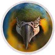 Angry Bird 2 Round Beach Towel