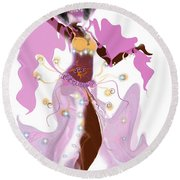 Anhka Round Beach Towel