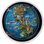 Animal Planet Round Beach Towel