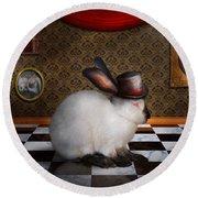 Animal - The Rabbit Round Beach Towel