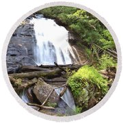 Anna Ruby Falls - Georgia - 4 Round Beach Towel