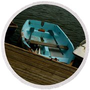 Annapolis Harbor Round Beach Towel