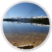 Round Beach Towel featuring the photograph Another Perfect Day by Jeremy Rhoades