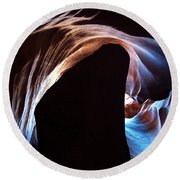 Antelope Canyon 09 Round Beach Towel