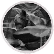 Antelope Canyon 2 Round Beach Towel