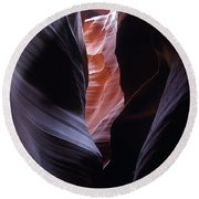 Antelope Canyon 5 Round Beach Towel