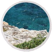 Antigua - Flight Round Beach Towel